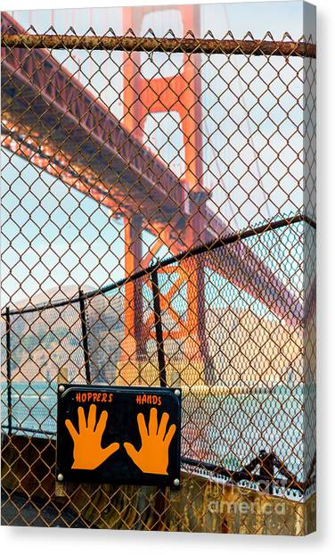 Hoppers Hands Canvas Print