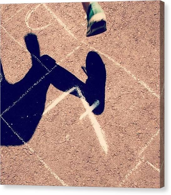 Hops Canvas Print - #hopscotch #secen #windows #eight #fun by Katie Ball