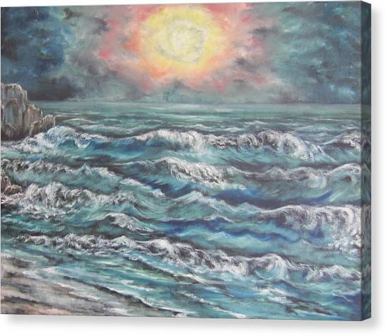 Horizons 3 Canvas Print