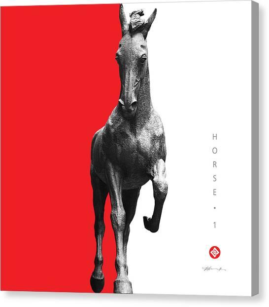 Horse 1 Canvas Print