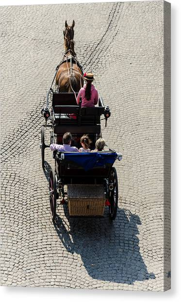 Horse Drawn Carriage Canvas Print