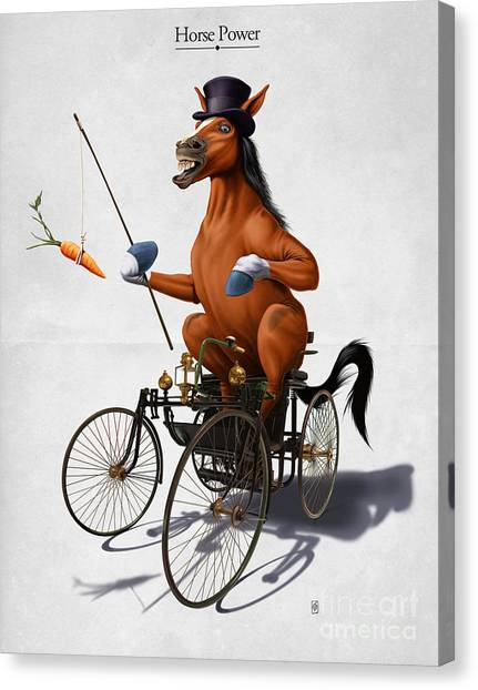 Horse Power Canvas Print