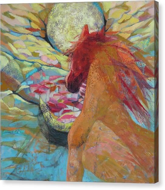 New Day Rising Canvas Print by GALA Koleva