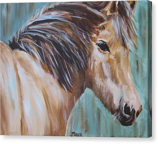 Horse Whisper Canvas Print