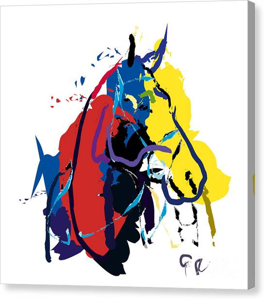 Horse- Zam Canvas Print