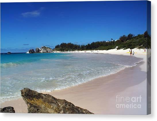 Horseshoe Bay Beach Canvas Print