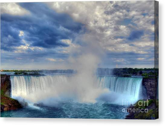 Horseshoe Falls Canvas Print - Horseshoe Falls by Mel Steinhauer