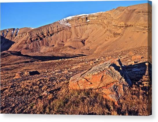 Mt. Massive Canvas Print - Horseshoe Mountain Dawn by Aaron Spong