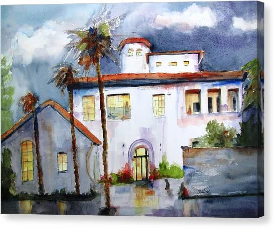 Hospitality House Canvas Print