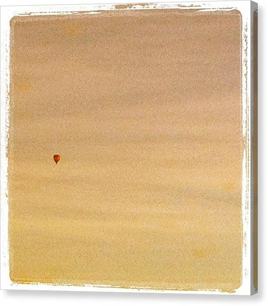 Hot Air Balloons Canvas Print - Hot Air Balloon by Hegert Toomsoo