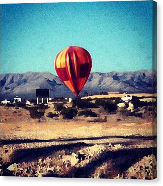 Hot Air Balloons Canvas Print - Hot Air Balloon  by Krisyphotography Gash