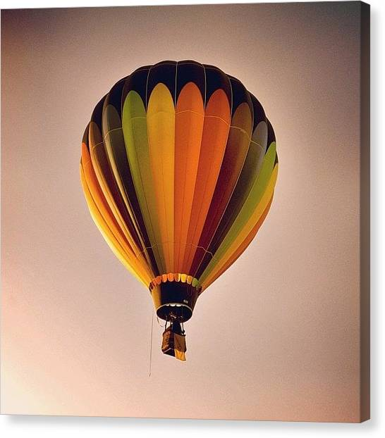 Hot Air Balloons Canvas Print - Hot Air Balloon by Kurt