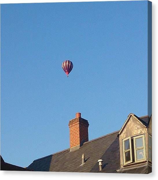 Hot Air Balloons Canvas Print - Hot Air Balloon by Sarah Qua