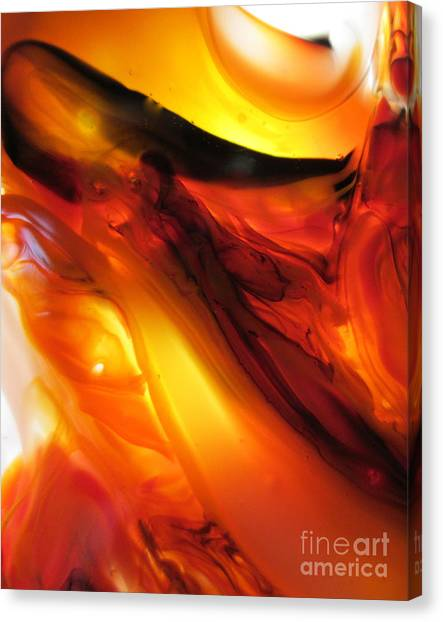 Hot Lava Canvas Print