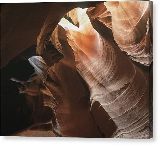Slot Canyon  Horizontal Canvas Print