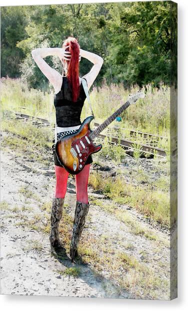 Hot Rocker Canvas Print