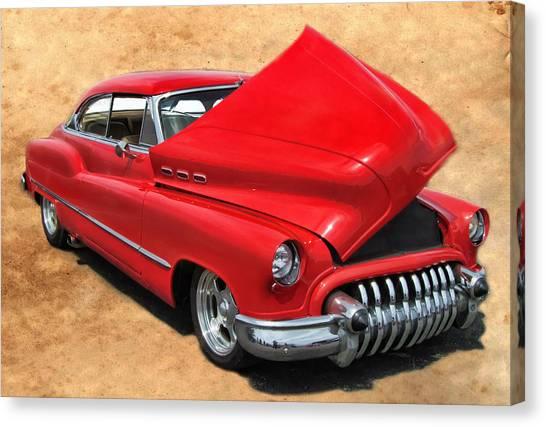 Hot Rod Buick Canvas Print