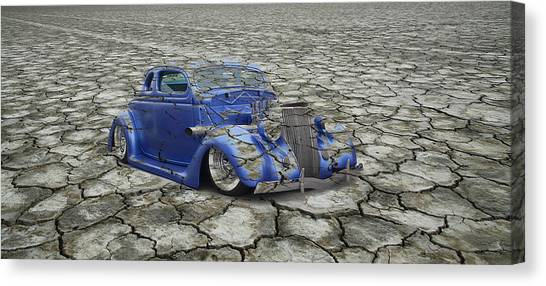 Hot Rod Mirage Canvas Print