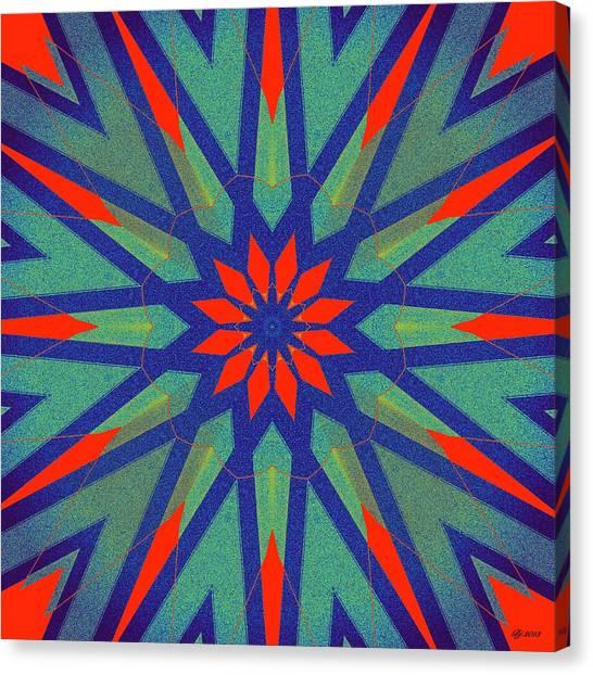 Hot Rod Tile Print 4 Canvas Print