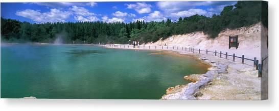 Rotorua Canvas Print - Hot Spring, Champagne Pool, Waiotapu by Panoramic Images