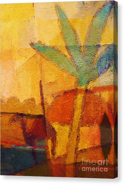 Morocco Canvas Print - Hot Sun by Lutz Baar