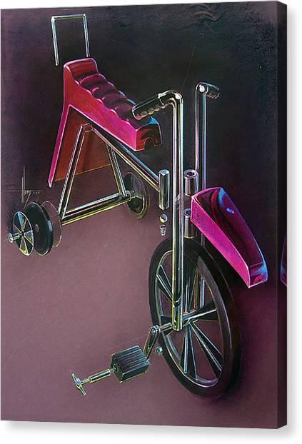 Hot Wheels Canvas Print by Jack Adams