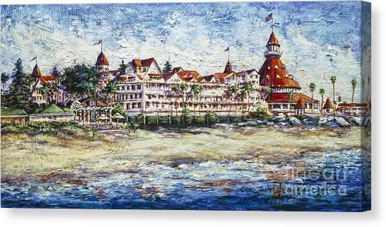 Hotel 2000 Canvas Print