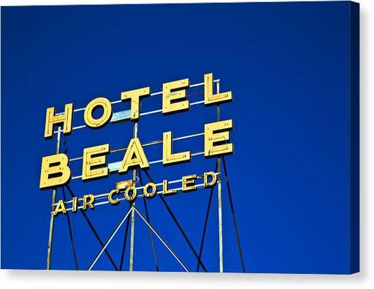 Hotel Beale Canvas Print