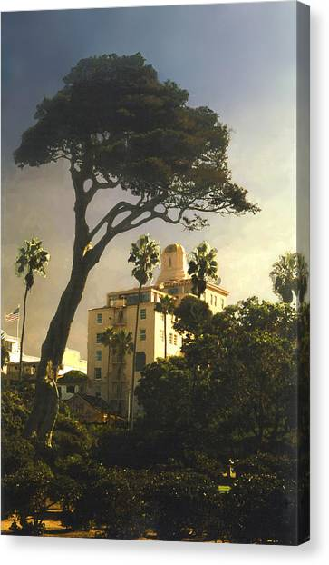 Hotel California- La Jolla Canvas Print