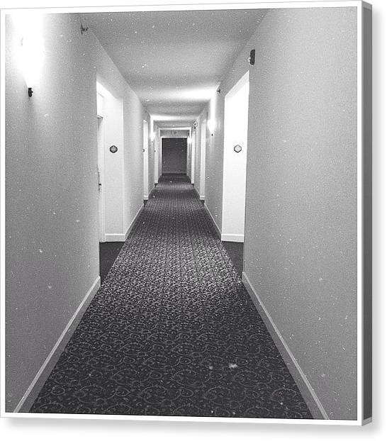 South Carolina Canvas Print - Hotel Hallway by Mackenzie Martin