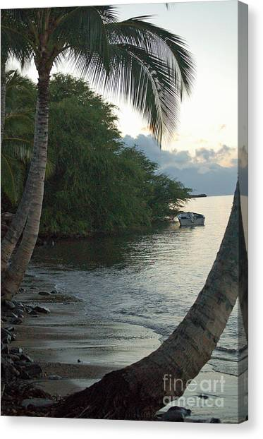 Hotel Molokai Beach Canvas Print