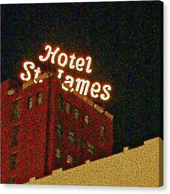 Hotel - St James San Diego Canvas Print