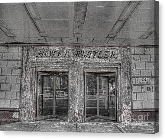 Hotel Statler Buffalo Ny Canvas Print