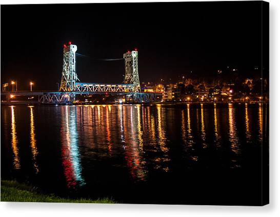 Houghton Lift Bridge  Canvas Print