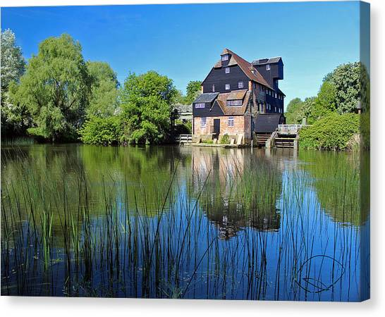 Houghton Mill Canvas Print