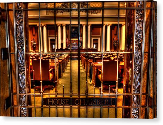Paul Ryan Canvas Print - House Chamber by Amanda Stadther