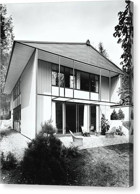 House Exterior Canvas Print