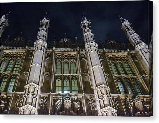 House Of Lords  Canvas Print