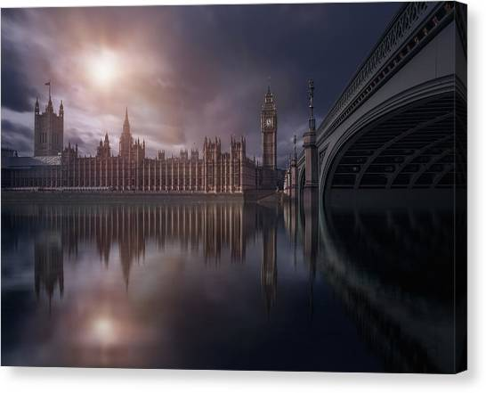 Big Ben Canvas Print - House Of Parliament by Iv?n Ferrero