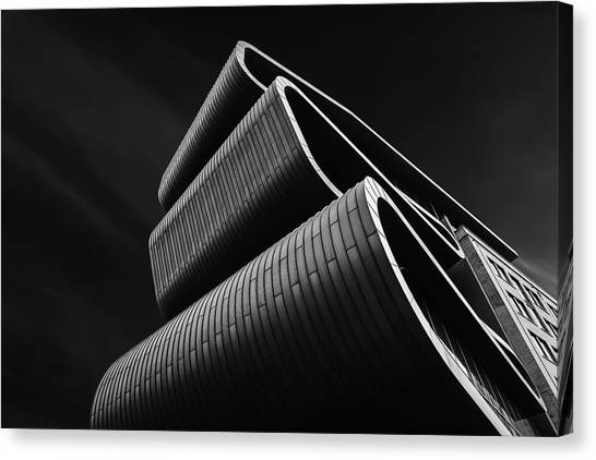 Modern Architecture Canvas Print - House Of Precious Metals by Luc Vangindertael (lagrange)