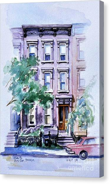 House On Tenth Street Canvas Print