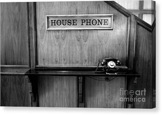 House Phone Canvas Print