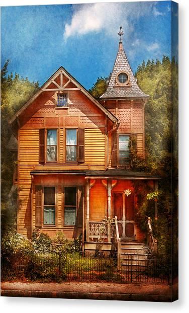 Pavers Canvas Print - House - Victorian - The Wayward Inn by Mike Savad