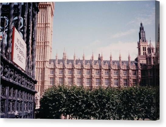 Parliament Canvas Print - Houses Of Parliament London England by Lisa Travis