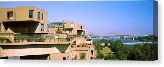67 Canvas Print - Housing Complex With A Bridge by Panoramic Images