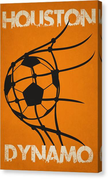 Soccer Teams Canvas Print - Houston Dynamo Goal by Joe Hamilton