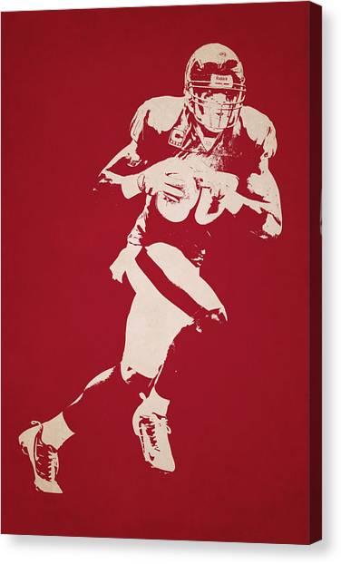 Houston Texans Canvas Print - Houston Texans Shadow Player by Joe Hamilton