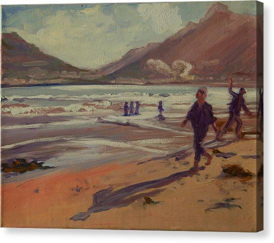 Hout Bay Beach Sunset Canvas Print