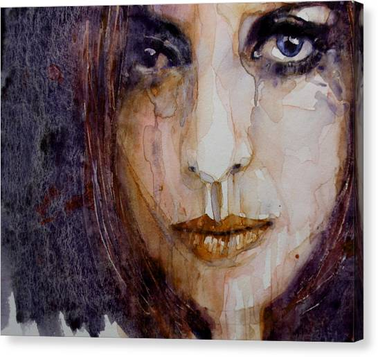 Heart Canvas Print - How Can You Mend A Broken Heart by Paul Lovering