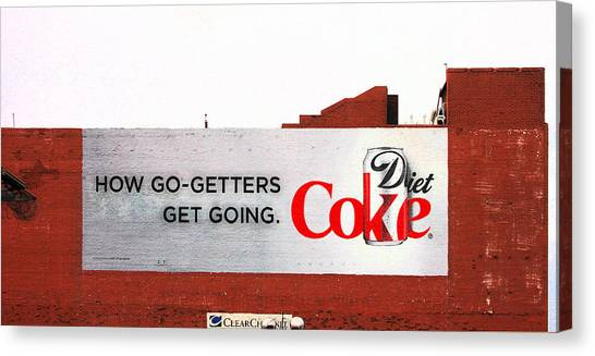 How Go Getters Get Going Canvas Print